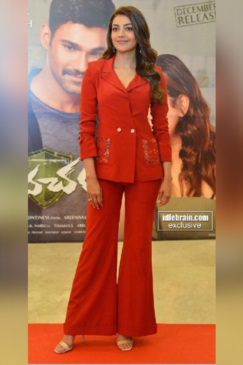Kajal Aggarwal In Pant Suit