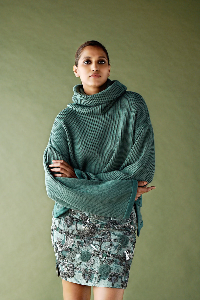 JADE GREEN JUMPER