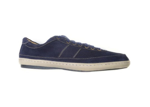 Austin Sport Oxford Water Repellent Oiled Velour Suede - Navy