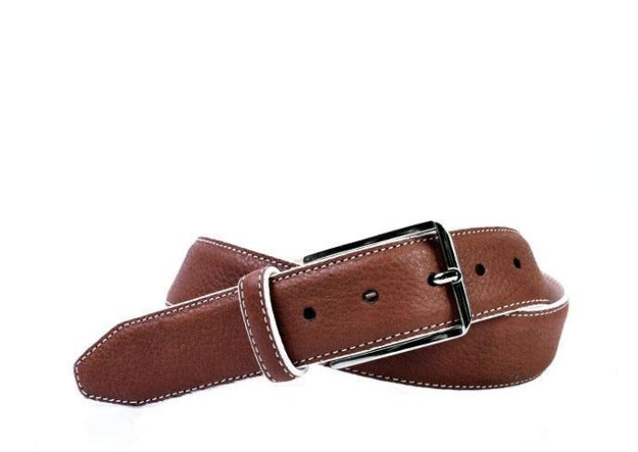 Riviera Tumbled Glove Men's Leather Belt