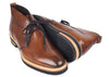 Tuscan Hand Stained Italian Calf Leather Chukka Boot - Whiskey
