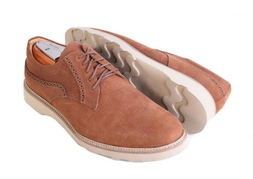 Highland Plain Toe Lace-Up - Havana