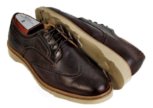 Highland Wingtip Lace-Up - Acorn