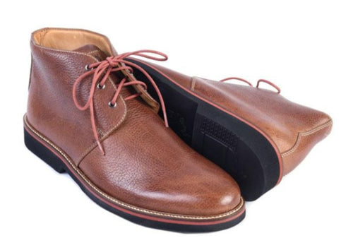 Wakefield Pebble Grain Leather Chukka Boot
