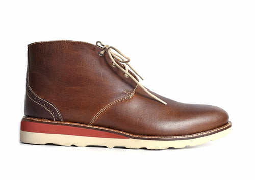 Blue Ridge Chukka Glove Leather Lining Boot - Burnt Cedar