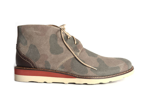 Blue Ridge Chukka Glove Leather Lining Boot - Moss Camo