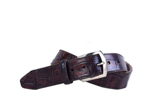 Jacob Authentic Alligator Belt