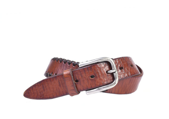 Artisan X Bridle Leather Belt - Castagna