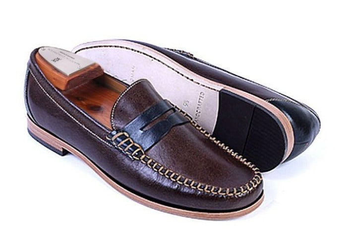 Maxwell Water Buffalo Leather Penny Loafer