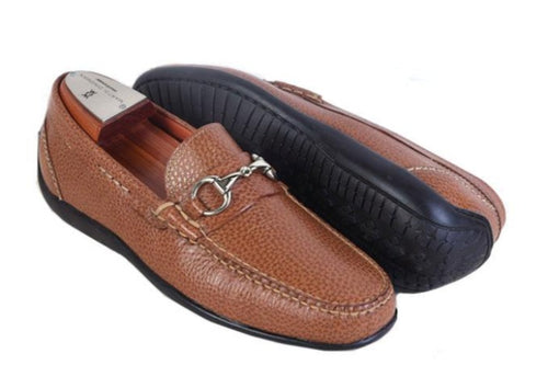Saxon II Pebble Grain Horse Bit Slip On
