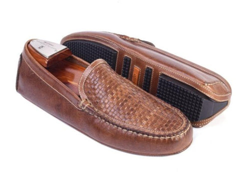 Old Row Oiled Saddle Leather Venetian Driving Loafer