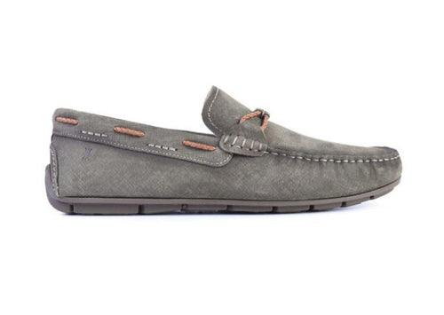 Bermuda Braid Nubuck Leather Bit Driving Loafer - Moss