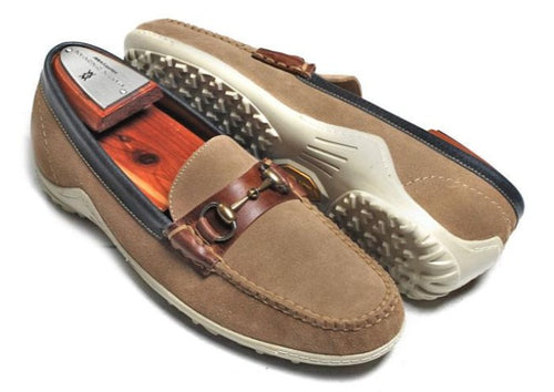 Bill Horse Bit Loafer - Sand