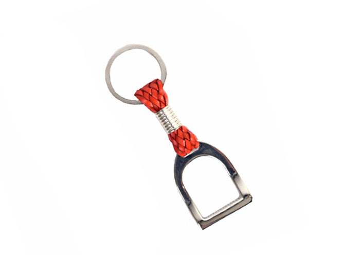 Stirrup Key Chain - Tangerine