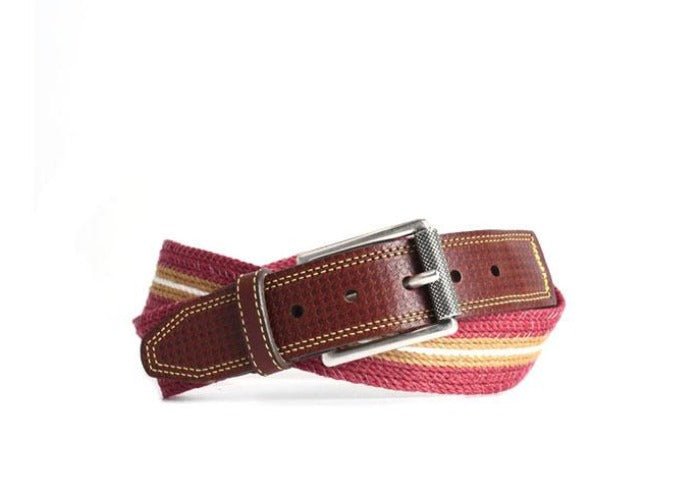 Savannah Braided Italian Linen Belt