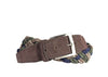 Mason Braided Italian Wool Belt - Walnut