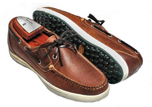 "Kennedy ""All Sport"" Water Buffalo Leather - Burnt Cedar"
