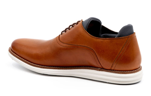 Countryaire Saddle Leather Plain Toe Sport Lace-Up - Whiskey