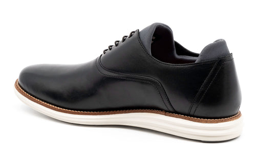 Countryaire Saddle Leather Plain Toe - Black