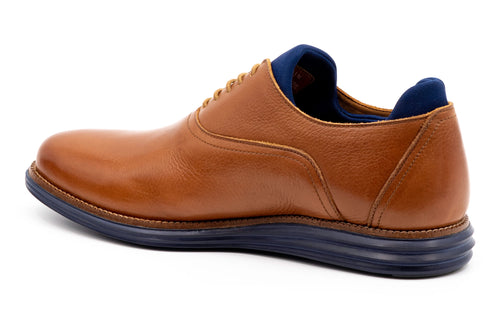 Countryaire Tumbled Glove Leather Plain Toe - Almond