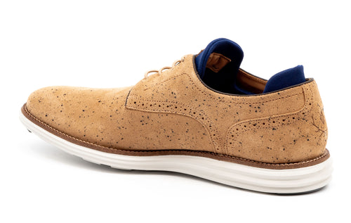 Countryaire Water-Repellent Suede Plain Toe - Cappuccino