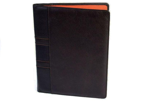 Rudyard Tumbled Saddle Leather Porfolio