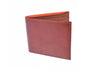 Edward Glazed Saddle Leather Billfold - Saddle Tan