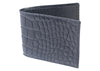 Jameson Matte Alligator Front Pocket Wallet-Black