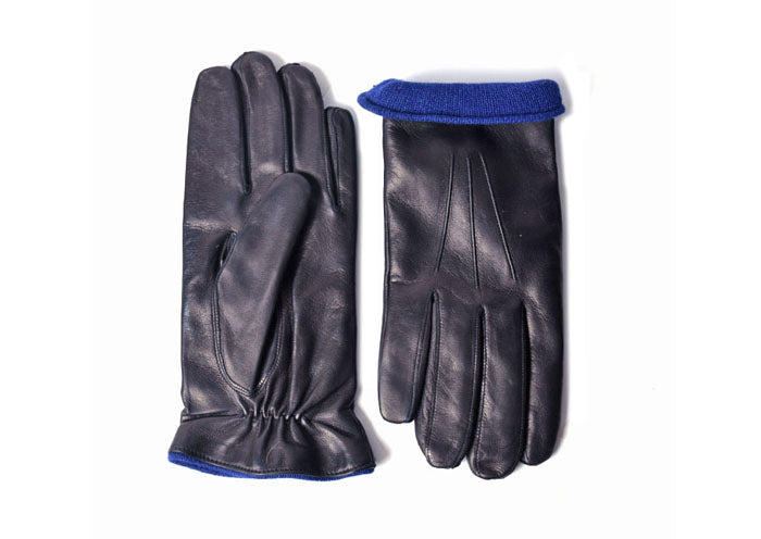 Cabretta Dress Glove - Black/Royal