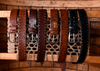 Artisan Lace Italian Bridle Leather Belt - Chestnut