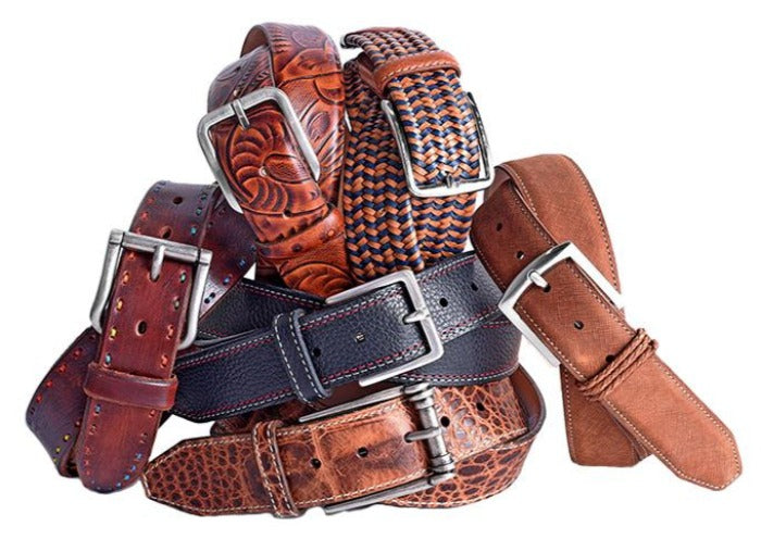 6-Pack of Assorted Casual Belts - Martin's Pick