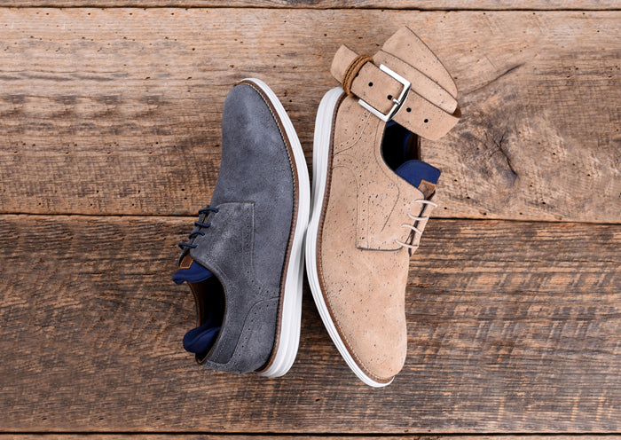 Countryaire Water-Repellent Suede Plain Toe - Blueberry