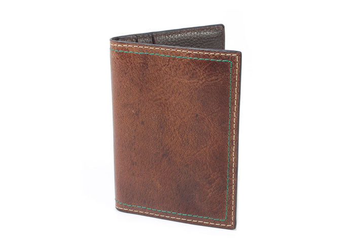 Classic Water Buffalo I.D. Wallet - Burnt Cedar