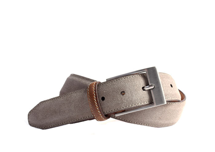 Royal Water Repellent Suede Belt - Stone