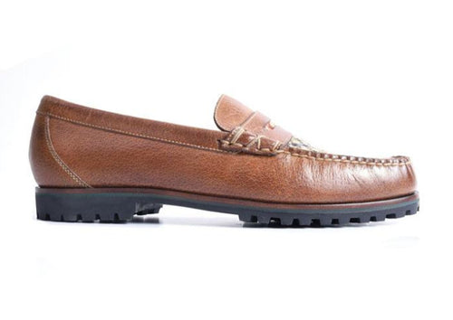 Jackson Penny Glove Leather Lining Loafer - Burnt Cedar