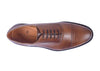 Charleston Dress Calf Leather Cap Toe Oxford - Chestnut