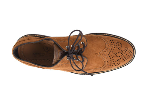 Safari Kudu Wingtip - Tobacco