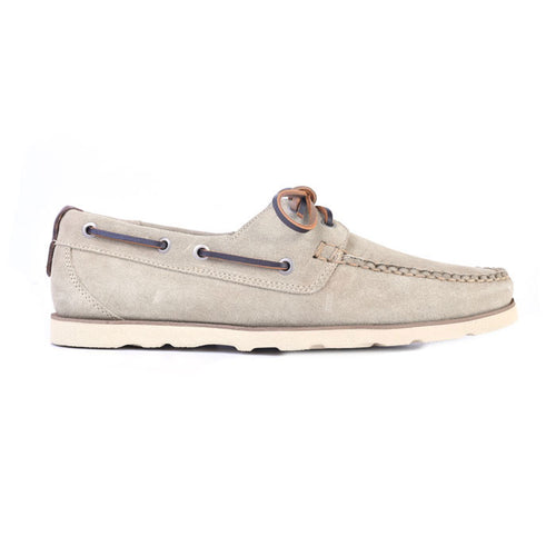 Newbury Camp Water-Repellent Suede Moc - Sand