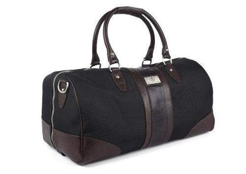 Executive Duffel - Black Nylon