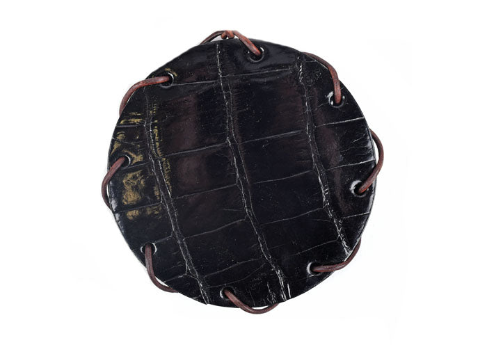 Alligator Coasters - Black