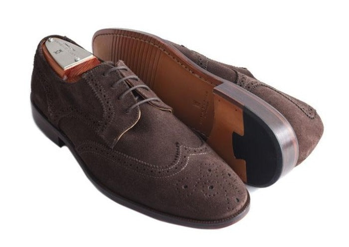 Charleston Dress Oxford Wingtip - Walnut