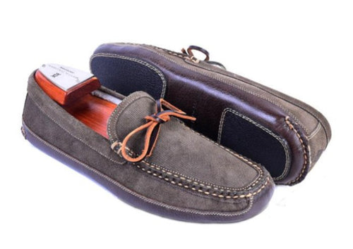 Walden Water Repellent Suede House Slipper