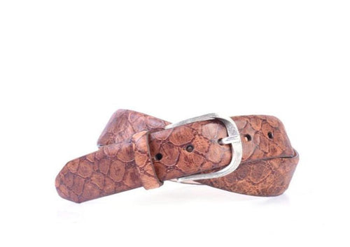 Amazonas Leather Belt - Chestnut