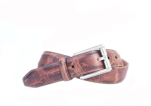 Hudson Dinosaur Grain Leather Belt