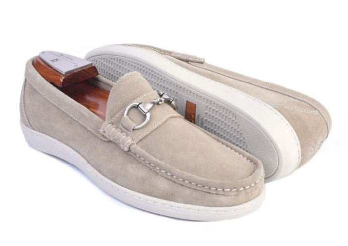 Thurston II Water Repellent Suede Horse Bit Sport Shoe