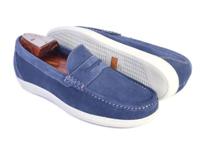 Thurston II Water Repellent Suede Penny Sport Shoe