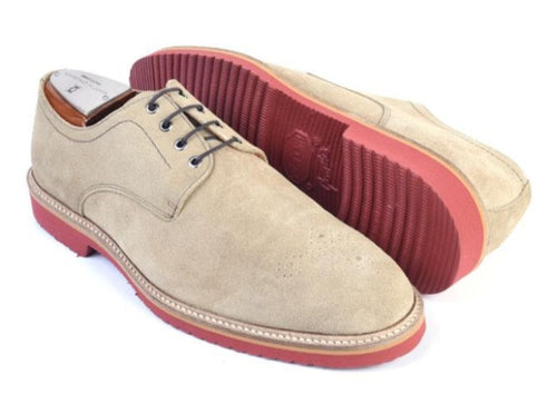 Liverpool Water Repellent Suede Plain Toe Blucher