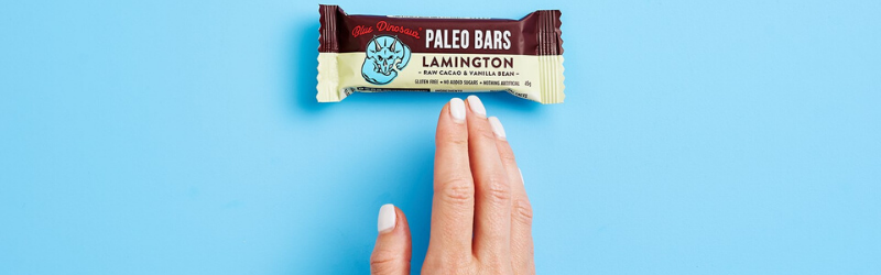 HOW TO MAKE A BLUE DINOSAUR LAMINGTON BAR