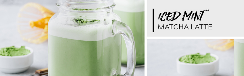 ICED MINT MATCHA LATTE