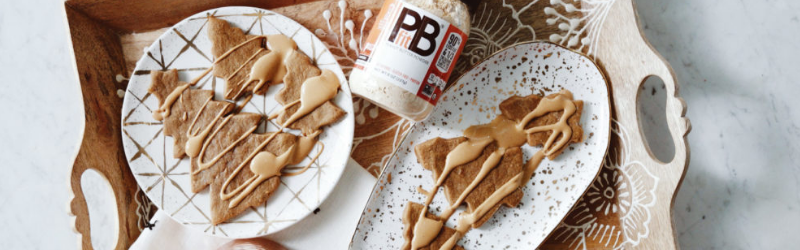 PBFIT CHRISTMAS TREE COOKIES